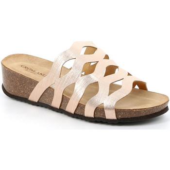Cipők Női Papucsok Grunland CB2490 Bézs