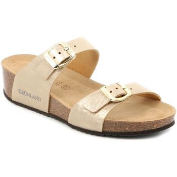Cipők Női Papucsok Grunland CB2494 Bézs