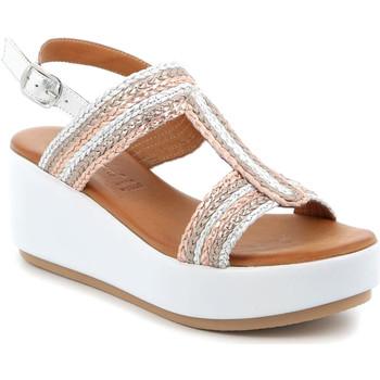 Cipők Női Szandálok / Saruk Grunland SA2489 Ezüst