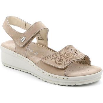 Cipők Női Szandálok / Saruk Grunland SA2580 Bézs