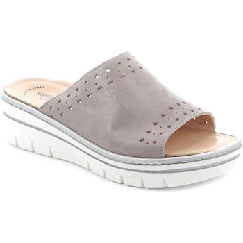 Cipők Női Papucsok Grunland CE0706 Szürke