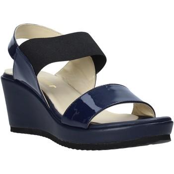 Cipők Női Szandálok / Saruk Esther Collezioni ZB112 Kék
