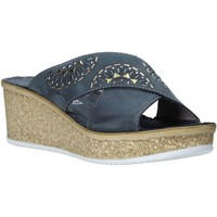Cipők Női Papucsok Grunland CI1771 Kék