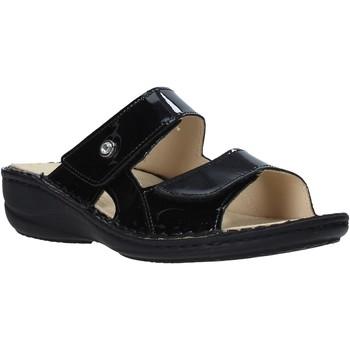 Cipők Női Papucsok Grunland CE0446 Fekete