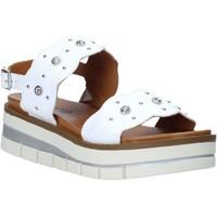 Cipők Női Szandálok / Saruk Grunland SA2545 Fehér