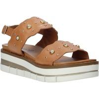 Cipők Női Szandálok / Saruk Grunland SA2545 Barna