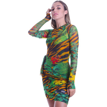 Ruhák Női Rövid ruhák Versace D2HVB495S0782983 Fekete