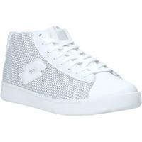 Cipők Női Magas szárú edzőcipők Lotto L57989 Fehér