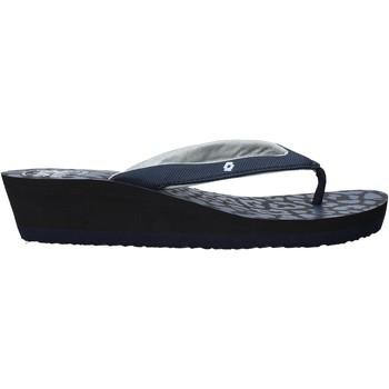 Cipők Női Lábujjközös papucsok Lotto L58326 Kék