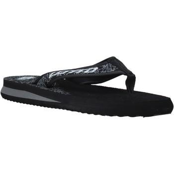 Cipők Férfi Lábujjközös papucsok Lotto L52287 Fekete