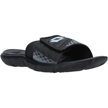 Cipők Férfi strandpapucsok Lotto 211100 Fekete