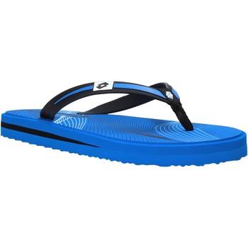 Cipők Férfi Lábujjközös papucsok Lotto L58324 Kék