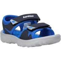 Cipők Gyerek Szandálok / Saruk Lotto L55098 Kék