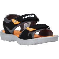 Cipők Gyerek Szandálok / Saruk Lotto L55098 Fekete
