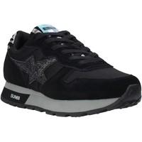 Cipők Női Rövid szárú edzőcipők Sun68 Z40212 Fekete