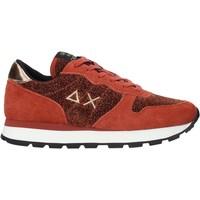 Cipők Női Rövid szárú edzőcipők Sun68 Z40205 Piros