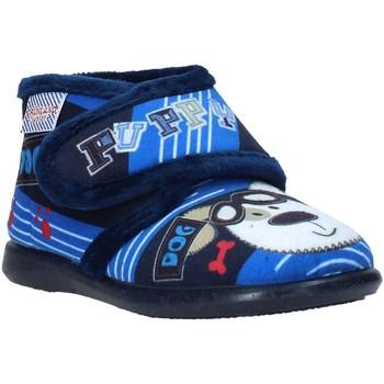 Cipők Gyerek Mamuszok Grunland PA0623 Kék