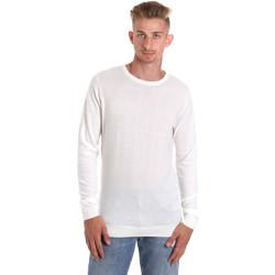 Ruhák Férfi Hosszú ujjú pólók Sseinse ME1504SS Fehér