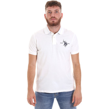 Ruhák Férfi Rövid ujjú galléros pólók U.S Polo Assn. 55959 41029 Fehér