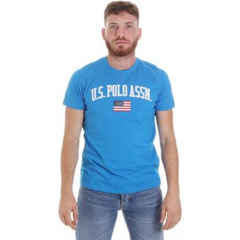 Ruhák Férfi Rövid ujjú pólók U.S Polo Assn. 57117 49351 Kék