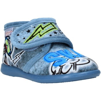 Cipők Gyerek Mamuszok Grunland PA0628 Kék