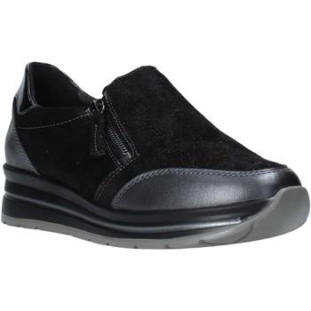 Cipők Női Belebújós cipők Grunland SC4979 Fekete