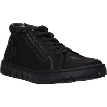Cipők Férfi Magas szárú edzőcipők Grunland PO1717 Fekete