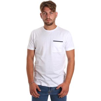 Ruhák Férfi Rövid ujjú pólók Antony Morato MMKS01798 FA100212 Fehér