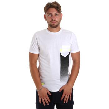 Ruhák Férfi Rövid ujjú pólók Antony Morato MMKS01794 FA100189 Fehér