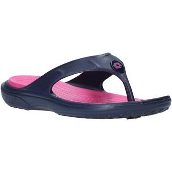 Cipők Női Lábujjközös papucsok Lotto L46823 Kék