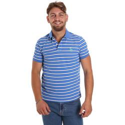 Ruhák Férfi Rövid ujjú galléros pólók U.S Polo Assn. 56336 52802 Kék