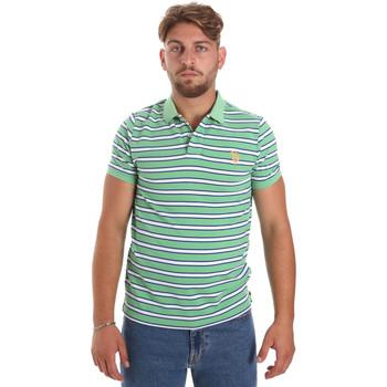 Ruhák Férfi Rövid ujjú galléros pólók U.S Polo Assn. 56336 52802 Zöld