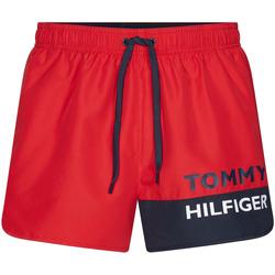 Ruhák Férfi Fürdőruhák Tommy Hilfiger UM0UM01683 Piros