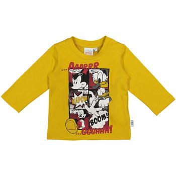 Ruhák Gyerek Hosszú ujjú pólók Melby 20C2040DN Sárga