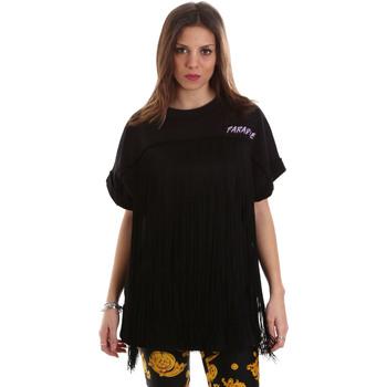 Ruhák Női Pulóverek Versace B6HVB79813956899 Fekete