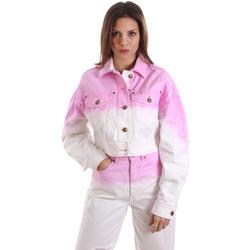 Ruhák Női Pulóverek Versace C0HVB96MHRC5C445 Fehér