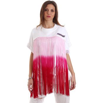 Ruhák Női Pulóverek Versace B6HVB76713956003 Fehér
