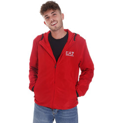 Ruhák Férfi Melegítő kabátok Ea7 Emporio Armani 8NPB04 PNN7Z Piros