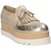 Cipők Női Gyékény talpú cipők Grace Shoes 1311 Sárga