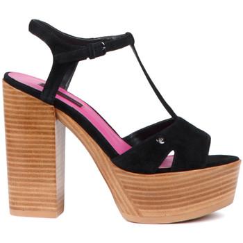 Cipők Női Szandálok / Saruk Fornarina PE17KY1012S000 Fekete