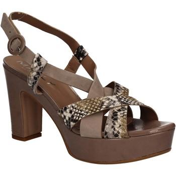 Cipők Női Szandálok / Saruk Mally 5832 Barna