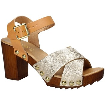 Cipők Női Szandálok / Saruk Keys 5864 Sárga