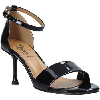 Cipők Női Szandálok / Saruk Grace Shoes 492G001 Fekete