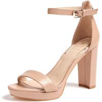 Cipők Női Szandálok / Saruk Guess FL5ORE LEA03 Bézs