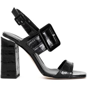 Cipők Női Szandálok / Saruk Café Noir LE126 Fekete