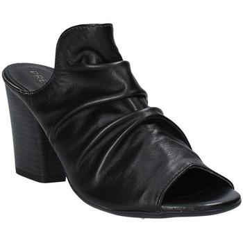 Cipők Női Papucsok Pregunta PF3286 Fekete