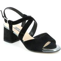 Cipők Női Szandálok / Saruk Grunland SA1426 Fekete