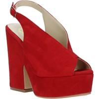 Cipők Női Szandálok / Saruk Grace Shoes ALBA 107 Piros