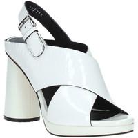 Cipők Női Szandálok / Saruk Elvio Zanon EJ4408N.C Fehér