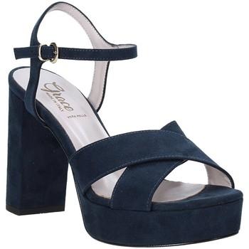 Cipők Női Szandálok / Saruk Grace Shoes 492PL003 Kék